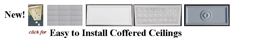 Click for coffered ceiling panels
